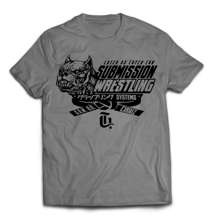 Catch As Catch Can Submission Wrestling T-Shirt