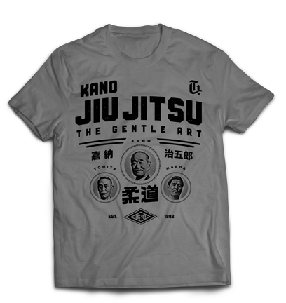 Kano Jiu Jitsu - Lineage - Kano Tomita and Maeda - Gotch Fightwear