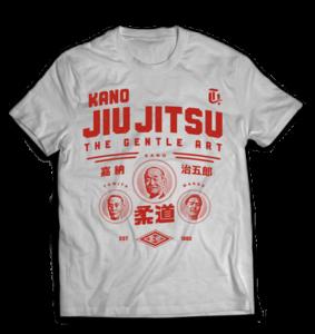 Kano Jiu JItsu RED - Lineage - Kano Tomita and Maeda - Gotch Fightwear