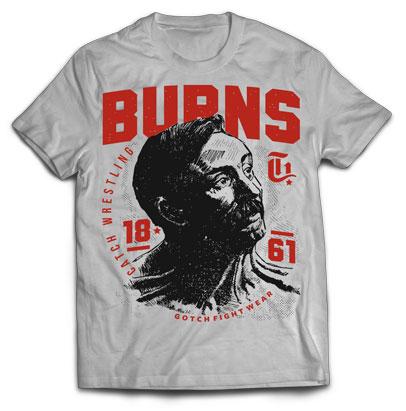 Burns T-Shirt by Gotch Fightwear