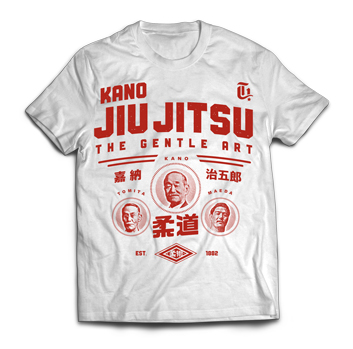 Kano Jiu Jitsu Red from Gotch Fightwear