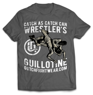 Wrestlers Guillotine - Gotch Fightwear T-Shirt